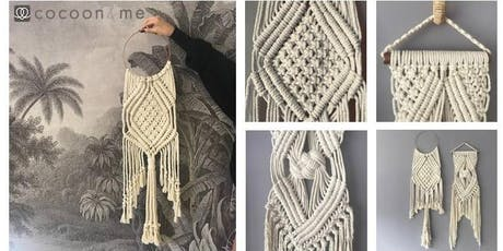 Macrame wall hanging workshop  - Brighton tickets