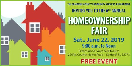 2019 Homeownership Fair tickets