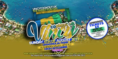 Vincycookout UK tickets