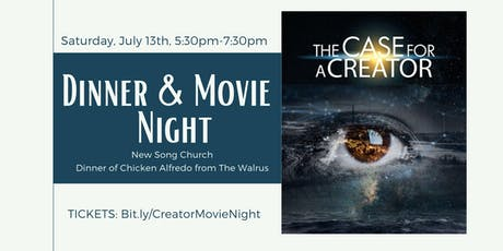 'The Case for a Creator' Dinner & Movie Night tickets