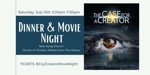 'The Case for a Creator' Dinner & Movie Night
