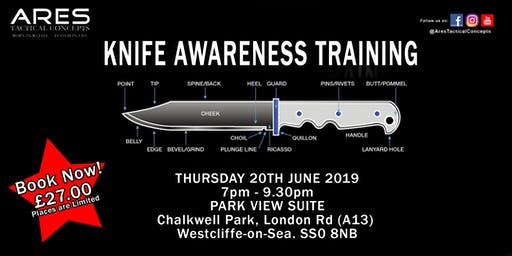 Knife Awareness Training Seminar