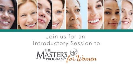 The Master's Program for Women - Session 1/Audit - Front Range tickets