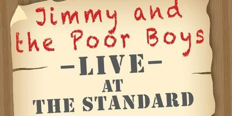 JIMMY AND THE POOR BOYS at ROYAL STANDARD, Blackheath tickets