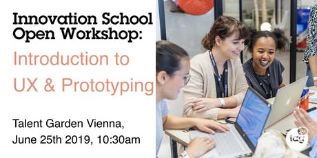 Innovation School Open Day Workshop: Introduction to UX & Prototyping tickets