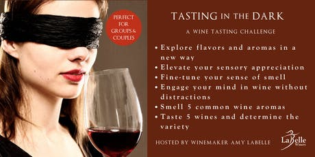 Tasting in the Dark - Blindfolded Challenge tickets