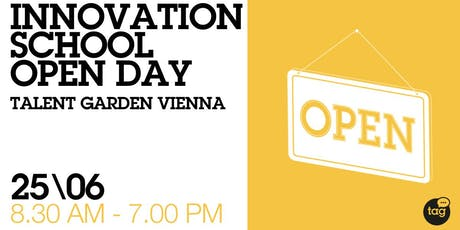 Talent Garden Vienna Innovation School Open Day tickets
