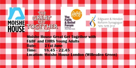 Moishe House Great Get Together tickets