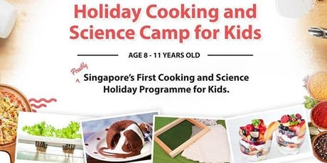 Holiday Cooking & Science Camp for Kids tickets