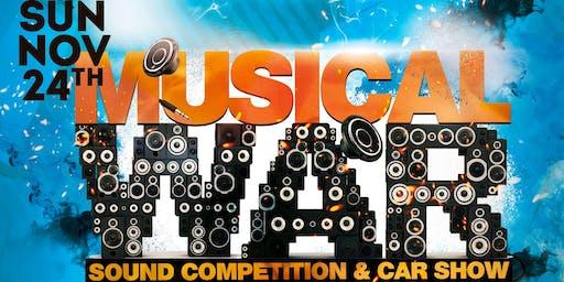 Musical War Sound Competition / Car Show - Nov 23rd & 24th