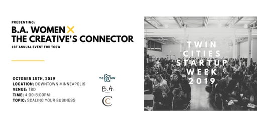 B.A. Women x The Creative's Connector x Twin Cities Startup Week