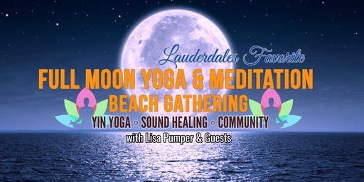FULL MOON BEACH YOGA MEDITATION & SOUND