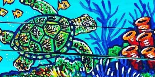 Sea Turtle Paint Night