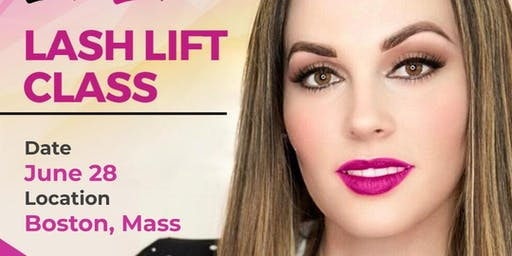 Lash Lift Class - Boston