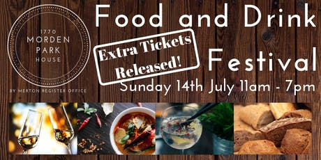 Merton Food and Drink Festival 2019 tickets