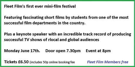 Fleet Film mini-film Festival starring young film-making talent  tickets