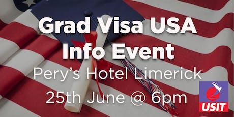 Grad Visa USA Info Talk- Limerick  tickets