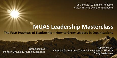 MUAS Leadership Masterclass tickets