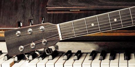 Optreden !Triggr piano- en gitaarcursisten tickets
