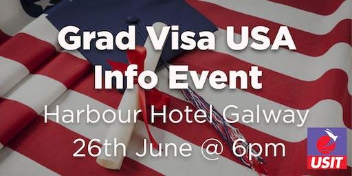 Grad Visa USA Info Talk- Galway