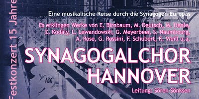 Festkonzert 15 Jahre Synagogalchor in Hannover