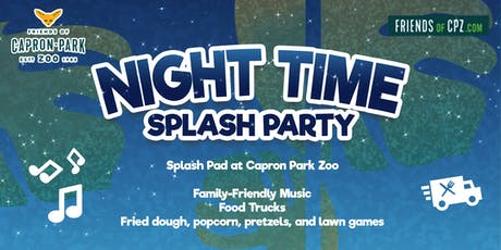 Night Time Splash Party! 6/26 & 8/21 tickets