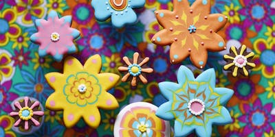 Biscuiteers Icing Lates - Flower Power- Northcote Road