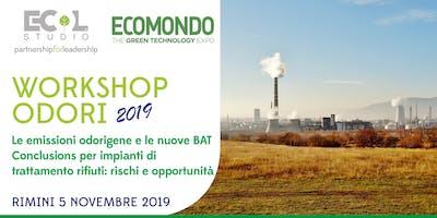 Le emissioni odorigene e le nuove BAT Conclusions per impianti di trattamento rifiuti: rischi e opportunità A cura di Ecol Studio S.p.A.