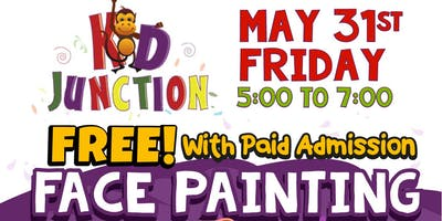 **** Painting at Kid Junction