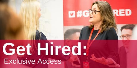 Get Hired: Exclusive Access tickets