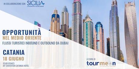"""Workshop """"Opportunità nel Medio Oriente: flussi turistici inbound e outbound da Dubai"""" biglietti"""