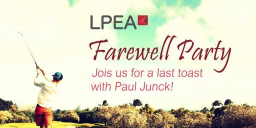 LPEA Farewell Party