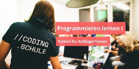 Programmieren lernen I  / Python für Anfänger*innen / Essen Tickets