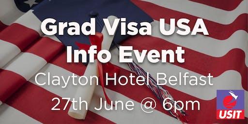 Grad Visa Info Talk - Belfast