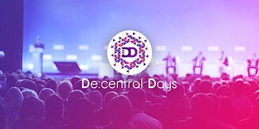 De:Days I De:central Days - Digital Economy Convention