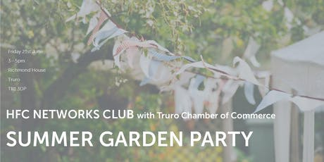 HFC Networks Club - Summer Garden Party Fundraiser tickets
