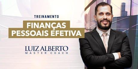Treinamento - FINANÇAS PESSOAIS EFETIVA ingressos