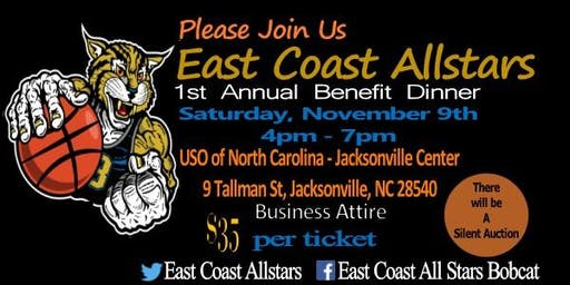 East Coast Allstars 1st Annual Benefit Dinner