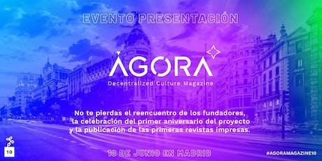 Presentación de ÁGORA Magazine #10 entradas