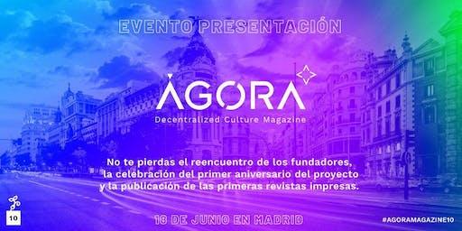 Presentación de ÁGORA Magazine #10