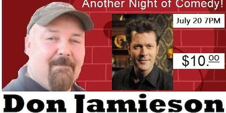 Jeff the Bar Tender Presents Another Night of Comedy with Don Jamieson tickets