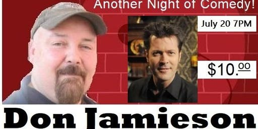 Jeff the Bar Tender Presents Another Night of Comedy with Don Jamieson