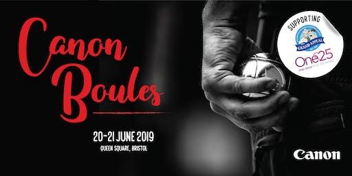 Canon Boules 2019