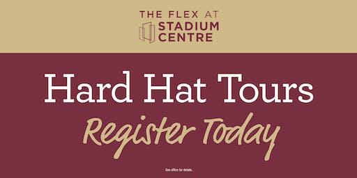 The Flex at Stadium Centre Hard Hat Tours