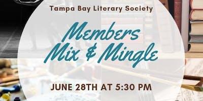 Tampa Bay Literary Society Members Mix & Mingle