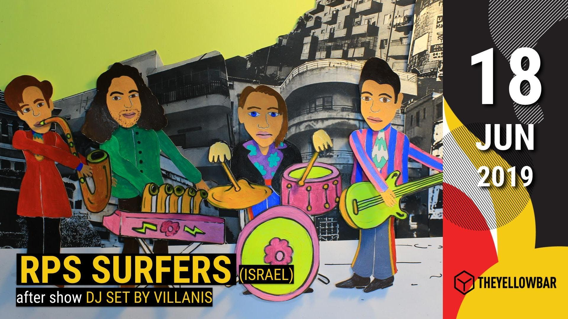 RPS Surfers - The Yellow Bar