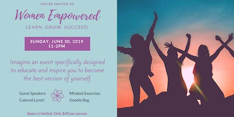 Women Empowered: Learn. Grow. Succeed. tickets