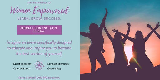 Women Empowered: Learn. Grow. Succeed.