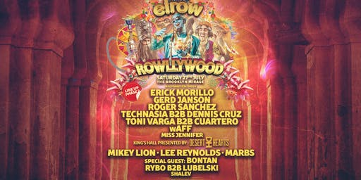 elrow NYC:  Open Air Festival at The Brooklyn Mirage
