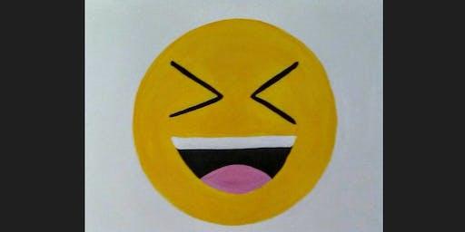 Emoji Kid Paint Camp